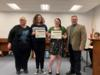Students were recognized for their participation and Superior ranking at the District 15 One Act and Individual Event Festival.  These students will go on to compete at the state level.