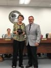 Donna Campbell was recognized for her retirement this year after 30+ years of service in education!