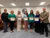 Language Arts, Math and Science teachers at the secondary level were recognized for their help and participation in the creating of curriculum maps.