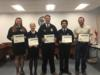 The OHS FFA Land Judging team was recognized for placing third in the state FFA competition.