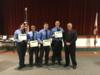 Okeechobee County Fire Rescue members were recognized for their service during Hurricane Irma.  These members served at the two county shelters during the storm making sure everyone stayed healthy and safe.