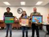 Students from Yearling Middle School were recognized for their artwork that was chosen to hang in the Florida State Capital.