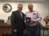 Mr. Jimmy Kemp was recognized for his years of service to Okeechobee County Schools as a bus driver, mechanics helper and custodian at Seminole Elementary School.