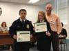 Yearling Middle School FFA Poultry Judging Team was recognized for placing 8th in the state competition.