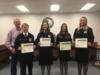 The YMS FFA Land Judging team was recognized for placing second in the state FFA competition.
