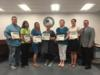 Teachers who were recognized by the sate DOE for being high impact teachers in the classroom were recognized at the school board meeting.