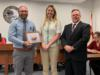 Joseph Szentmartoni, a teacher at OAA, was recognized for receiving the Golden Mouse award for Quarter 2, for his use and integration of technology into his classroom.