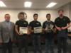 Teams from Okeechobee High School's Automotive program were recognized for their competing in and placing in the Top Tech Challenge which was held at the Universal Technical Institute in Orlando.  One team placed first and the other placed 8th.