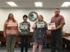 Students in Mr. Pung's Digital Design classes participated in a booklet cover design contest for this year's C@mp IT.  Students were recognized for their 1st, 2nd and 3rd place awards.