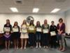Students from the middle schools and high school were recognized for making it to the State Science Fair and Engineering Fair.