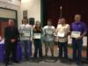 Members of the Okeechobee High School Bass Club were recognized for their inaugural year and for the three members that made it to the national championship.