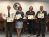 First United Methodist Church, Glades Electric Cooperative, GFWC Junior Women's Club and Jake's Welding were recognized for their support and donations during the teachers' pre-plan week.