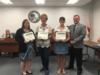 One teacher from each elementary school was recognized for their usage of the Footsteps to Brilliance program in their classrooms.  The teachers recognized have the most usage within the program with their students.