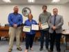 Okeechobee High School teacher Jason Anderson and his students were recognized for their ASE Accreditation in Maintenance and Light Repair.  Gilbert Family of Companies was also recognized for their support and help during this process.