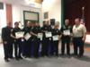 Deputies from the Okeechobee County Sheriff's Department were recognized for their help and support during Hurricane Irma.  Deputies manned each of the two shelters during the entire time making sure the sites and evacuees were safe and secure.