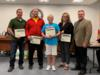 The Wellness Committee was recognized for their hosting of the Jingle Bell Jog for employees and students.